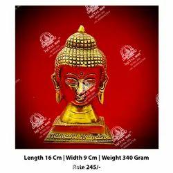 Golden Polished Buddha God Statue
