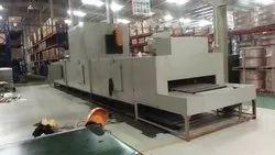 Floor Conveyor Type Powder Curing Oven