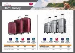 Abs Trolley Suitcase, Number Of Wheel: 4, Size: 20 24 28