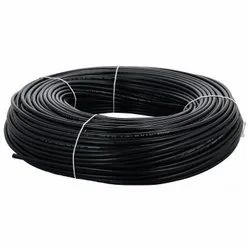 For Industrial 1 Core Electric Black Cable, Wire Size: 2sqmm