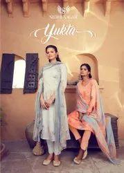 Siddhi Sagar Yukta Jam Satin Salwar Suits Catalog