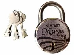 With Key Normal 70mm SS Padlock, Chrome