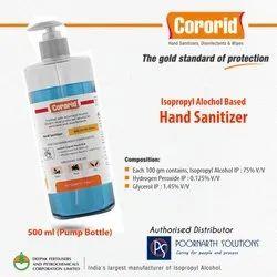 500ml Isopropyl Alcohol Based Hand Sanitizer