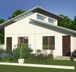 Fiber Prefab FCB Portable Farm House