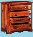 Sheesham Hardwood Drawer Chest