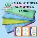 Wholesale Non Woven Kitchen Towels 100% Cotton Dish Towel