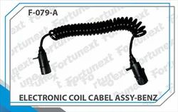 7 Pin Electronic Coil Cable Bharat Benz