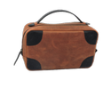 Soft Leather Designer Toiletry Bag