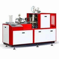 Paper Cup Machine with Auto Lubrication System