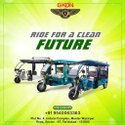 Super Dlx Battery Operated Rickshaw