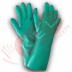 KNF15 Green Nitrile Gloves