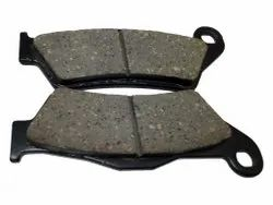 Cast Iron Front Pulsar Disc Brake Pad, For Two Wheeler