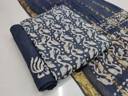 Printed Ladies Dress Material, For Clothing