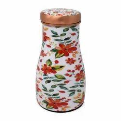 Printed Copper Sugar Pot