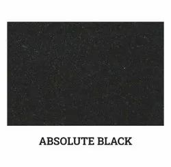 Polished Absolute Black Granite Slab, For Countertops, Thickness: 15inch
