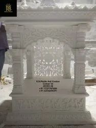 Pure White Stone Temple, For Home