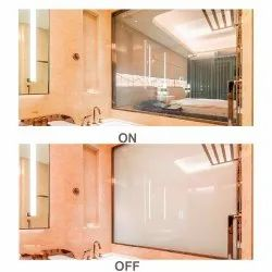 Hinged Switchable Glass Shower Door, Thickness: 0.5mm