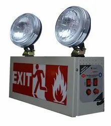 Industrial Emergency Light With Exit Sign - X-Lite