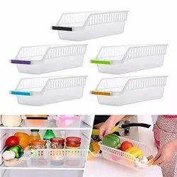 4 Pcs Plastic Fridge Rack/Tray/