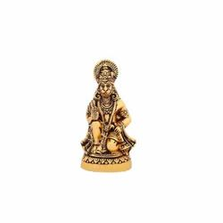 Gold Plated Hanuman Ji Statue For Home Tample & Corporate Gift