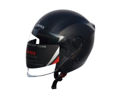 Cortex Hydro Graphic Black Open Face Helmet