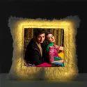 sublimation LED Square cushion