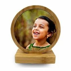 Bamboo Sublimation Photo Frame