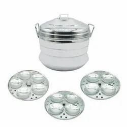 3 Plate Aluminium Idli Cooker