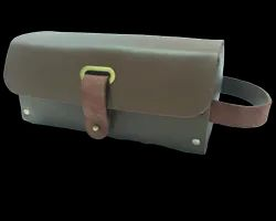 Leather Naked Toiletry Bag