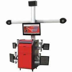 Semi-Automatic CCD Wheel Alignment Machine, For Industrial, 220V