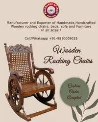 Breath ezee Antique Wooden Rocking Chair indoor or outdoor Delhi suppliers