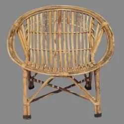 Wooden Bamboo Cane Kids Chair