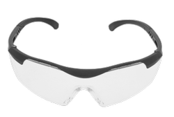 Polycarbonate Black + Decker Safety Goggles, EN 166: 2001