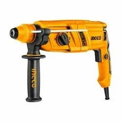 Ingco Powertools and Handtools 650W Rotary Hammer With 3 Sds-plus Drills