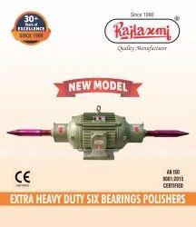 Extra Heavy Six Bearing Polisher