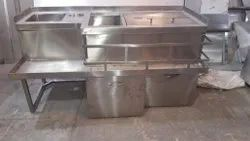 Stainless Steel Bar Counter