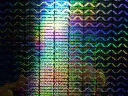 Instant Hologram Labels