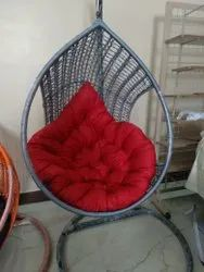 Single Swing Chair With Stand