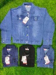 Full Sleeve Blue Women Jackets, Size: M-2XL