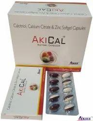 Akical Softgel Capsules, Akiez, Prescription