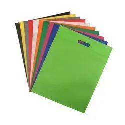 Plain Non Woven D Cut Bag, For Shopping