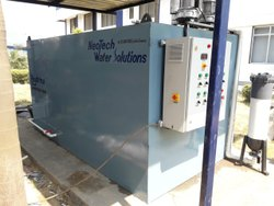 Completes Civil Work With Installation Industrial Sewage Treatment Plant
