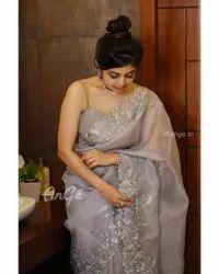 Premium Organza Silk Saree