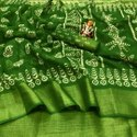 Soft Nylon Silk Cloth Rich Pallu Saree