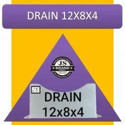 Drain 12x8x4