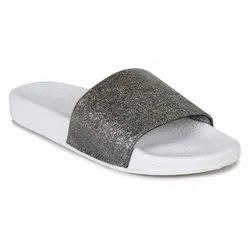 Rubber 707 - White Flip Flops, Size: 3 To 8