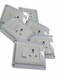 For Home PVC Electric Switch Board, Module Size: 4 Way, IP40