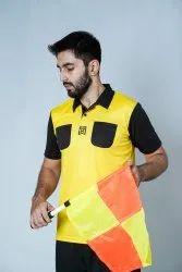 Dry Fit Yellow Referee Kit