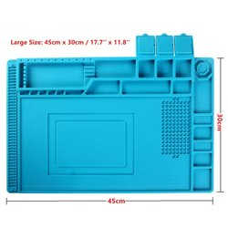Heat Insulation Silicone Repair Magnetic Soldering Mat