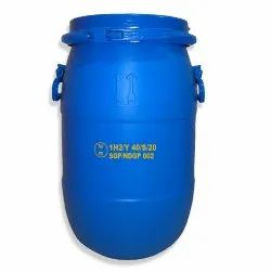UN APPROVED HDPE 30 LTR OPEN TOP DRUM